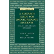 A Research Guide for Undergraduate Students by Nancy L Baker