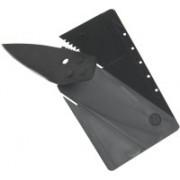 Everything Imported Credit Card Folding Pocket Multi-utility Knife(Black)