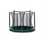 Berg InGround Trampolin Talent + Sicherheitsnetz Comfort 240cm