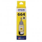 Epson T664 EcoTank Yellow Ink Bottle