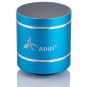 Boxa Portabila Adin Vibration Speaker MMDB1BTAL, Bluetooth (Albastru)
