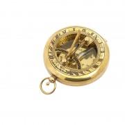 K+R Nostalgiekompass mit Sonnenuhr TOBAGO