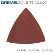 DREMEL MULTI-MAX - FOGLI ABRASIVI (MM70W)