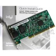 Placa de retea server Intel PWLA8391GT PRO/1000 GT Desktop Adapter 10/ 100/ 1000Mbps PCI 1 x RJ45
