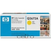 Toner HP Q2672A Galben LaserJet 3500 Series 4000 pag.