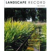 Landscape Record: Stormwater Management Strategies 2015: No. 1 by Landscape Record Los Angeles