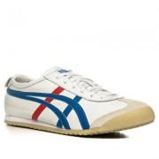 Onitsuka Tiger Herren Schuhe Sneaker Glattleder weiß weiß,beige