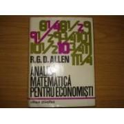 Analiza matematica pentru economisti