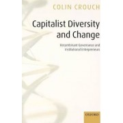 Capitalist Diversity and Change by Colin Crouch