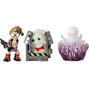 Ghostbusters Jillian Rowan in Trap and Gertrude Ghost Mini Figure (3 Pack)