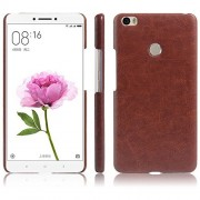 First 4 Cover For Xiaomi Mi Max Leather Back Cover (Brown)