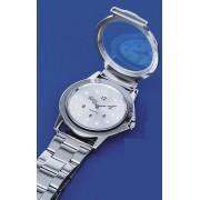 Ceas de mână Braille (tactil) RNIB, bărbătesc, cu brăţară metalică - STOC EPUIZAT TEMPORAR