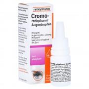 Cromo-ratiopharm Augentropfen 10 Milliliter
