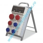Organizator portabil 4X2P+E 16A 1x3P+E 16a 2X3P+N+E 16A SCAME