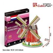 CubicFun 3D Puzzle S-Series Holland Windmill