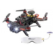 XciteRC Piercing 15003750 FPV Dron cuadricóptero de carreras, 250 Avance RTF, con Full-HD cámara
