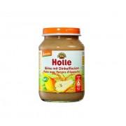 Piure de pere cu fulgi din grau spelt - Holle Longeviv.ro