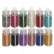 12 Kleuren Nail Art Beads