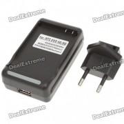 Station de charge Cradle + plug UE Adaptateur pour HTC Desire S S/G12/Incredible / EVO 4G
