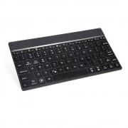 Aluminium Bluetooth Toetsenbord zwart (met backlight)