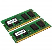 Memorie laptop Crucial 16GB DDR3 1333 MHz CL9 Dual Channel Kit pentru Mac