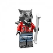 Lego minifigs [Series 14] with Wolf Guy ? bonus (one mini fig head)