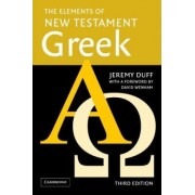 The Elements of New Testament Greek Paperback and Audio CD Pack by Jeremy Canon Duff