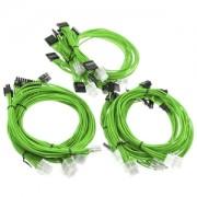 Kit cabluri modulare Super Flower Green