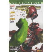 World War Hulk : The New Avengers + Fantastic Four + Iron Man + Captain America : Marvel Icons N°36 - Avril 2008 - Avec 1 Badge The Punisher - Collector Edition