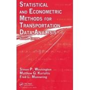 Statistical and Econometric Methods for Transportation Data Analysis by Simon P. Washington