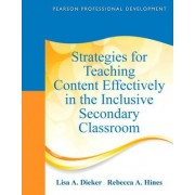 Strategies for Teaching Content Effectively in the Inclusive Secondary Classroom by Lisa Dieker