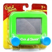 Ohio Art Pocket Etch A Sketch (Green With Blue Knobs) ... Color: Green With Blue Knobs Model: , Toys & Games For Kids & Child