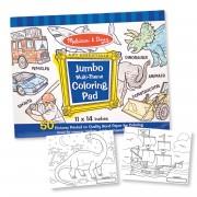 Melissa & Doug Jumbo Blue Coloring Pad - 4226