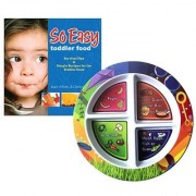 Fresh Baby Plate and So Easy Toddler Food Cookbook Value Pack English