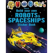 Build Your Own Robots and Spaceships Sticker Book by Simon Tudhope