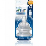 Philips AVENT Avent Classic Fast Flow Nipple New Born - 2 Pack