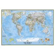 Wereldkaart 85 Politiek, 278 x 194 cm   National Geographic