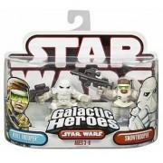 Star Wars Galactic Heroes Figure 2 Pack: Snowtrooper & Rebel Trooper