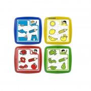Set de 4 puzzle educative