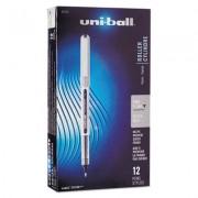 Vision Roller Ball Stick Waterproof Pen, Black Ink, Fine, Dozen