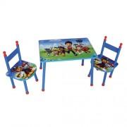 Set masuta si 2 scaunele Patrula Catelusilor