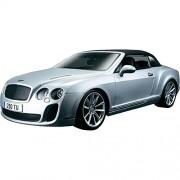 Bburago 1:18 Bentley Continental Supersport Convertible, Silver
