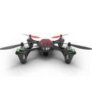 Drona HUBSAN x4 H107C CAM PLUS QUAD-COPTER, camera HD 720p (Negru / Rosu)