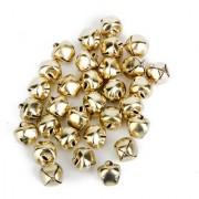 Metal Bells For Diy Crafts 10Mm 100Pcs Bronze