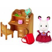 Sylvanian Families lapin en chocolat soeur et accessories / chocolate rabbit sister set