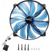 Ventilator Aerocool 200 mm 800 RPM Silent Master Blue