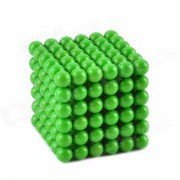 Cheerlink CZ- 909 5mm Glow -in-the -Dark néodyme Iron Balls DIY Puzzle Set - Green ( 216 PCS )