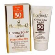 Crema solar facial Anti-Arrugas FPS 50 Fleurymer 80 ml.