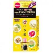 """KRACIE """"Ichikami"""" Масло для ухода за волосами с экстрактом дикого риса и природными маслами, флакон 60 мл."""
