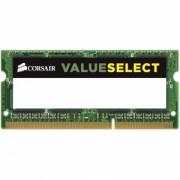 Corsair - CMSO8GX3M1C1600C11 - SODIMM DDR3L ValueSelect - modul 8GB (1x 8GB) - 1600MHz - 11-11-11-28 - 204PIN - 1.35V - Single - 8 GB - SODIMM - DDR3 - 1600 MHz - 1.35 V